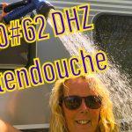 DHZ: Buitendouche gemaakt