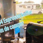 Espresso koffie in de camper