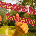 Dick 50 jaar en geocaching