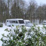 Winterkamperen op de veluwe